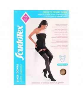 Gambaletti elastici velati donna compressione graduata 70 den calze elastiche