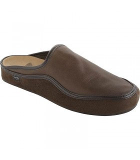 Scholl Brandy pantofole uomo pelle